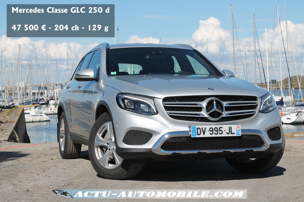 Essai Mercedes Classe Glc 250d 4matic Executive Actu