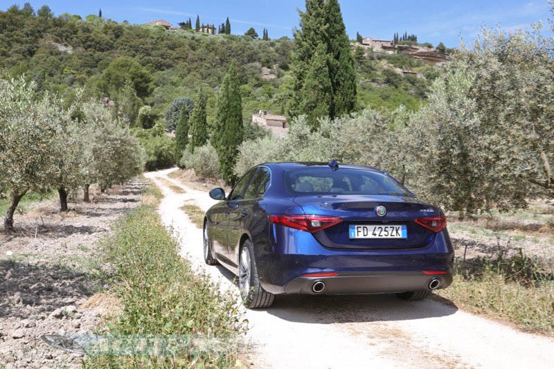 Essai Alfa Romeo Giulia Super 2.2 diesel 180