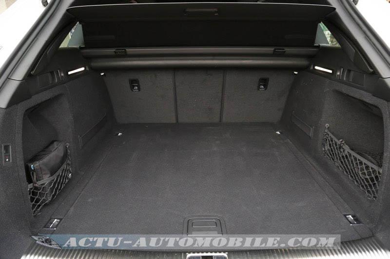 Coffre de l'Audi A4 Allroad Quattro