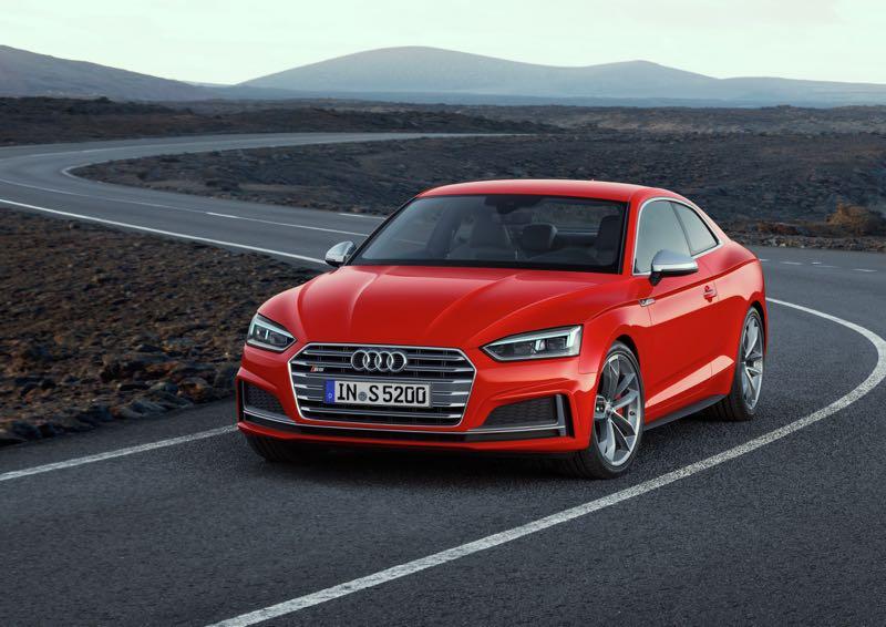 Nouveautés : Audi A5 Coupé et S5 Coupé 2016