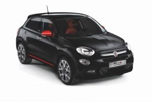 Série limitée : Fiat 500X Rosso Amore