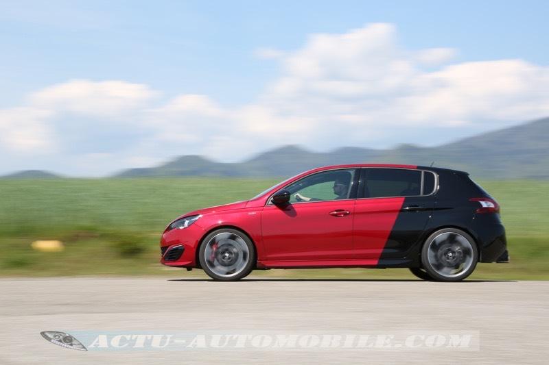 Essai Peugeot 308 GTI 2015