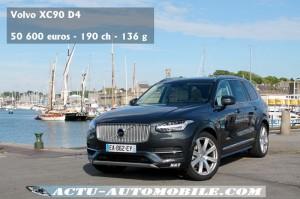 Volvo XC90 D4 190 ch