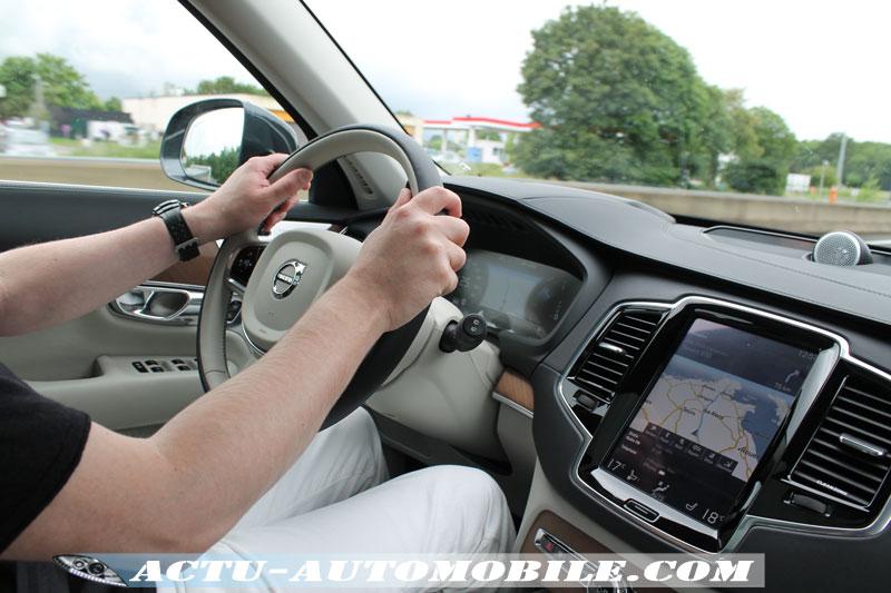 Au volant du Volvo XC90 D4 190 ch