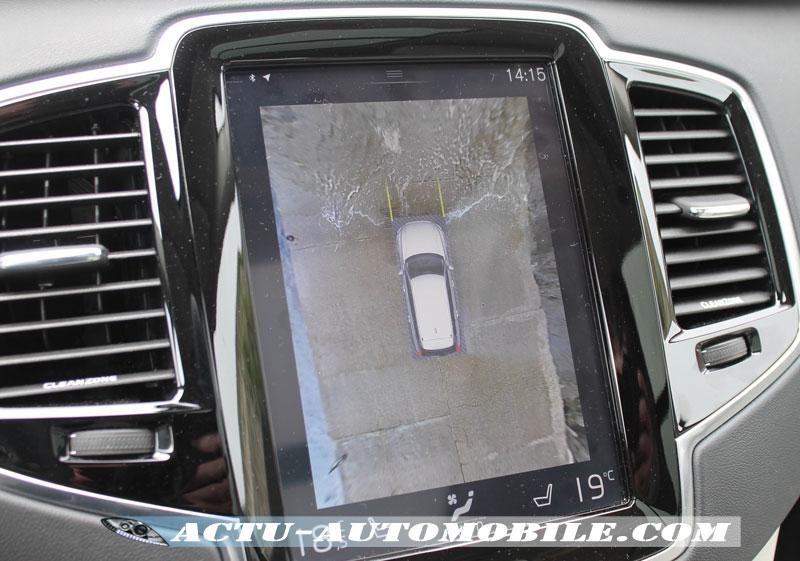Caméra 360° Volvo XC90