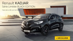 Série limitée : Renault Kadjar Black Edition