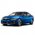 BMW Série 1 Sedan : seulement pour la Chine