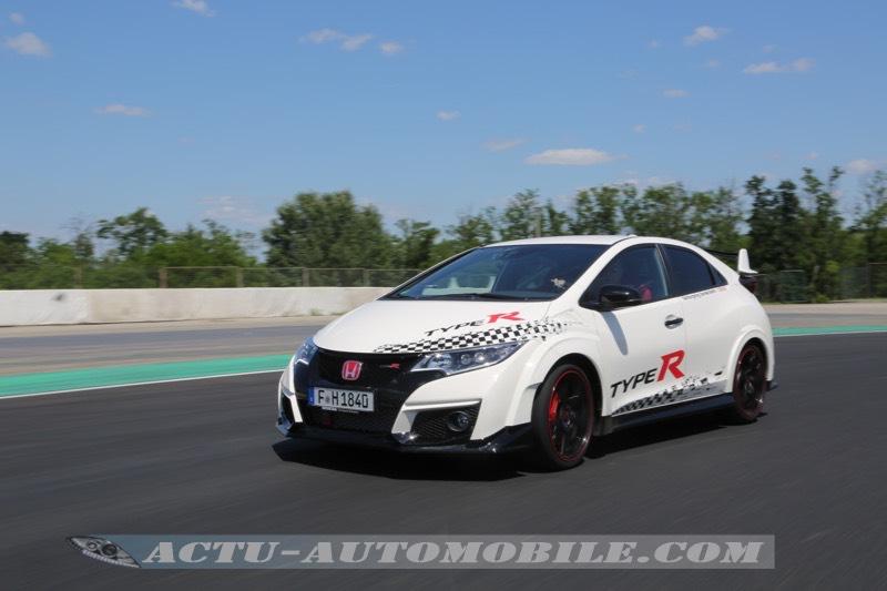 Honda Civic Type R génération 2015