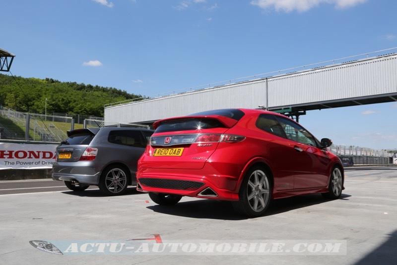 Honda Civic Type R : génération 2 et 3