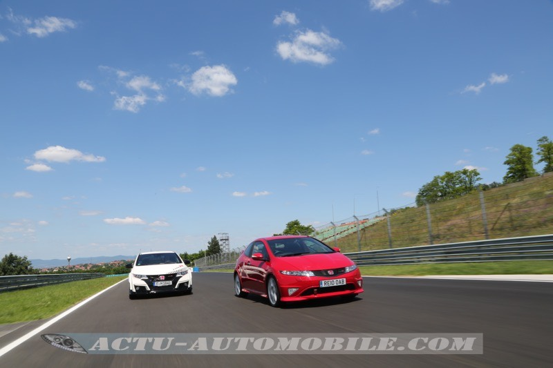 Honda Civic Type R FN2 sur le Hungaroring