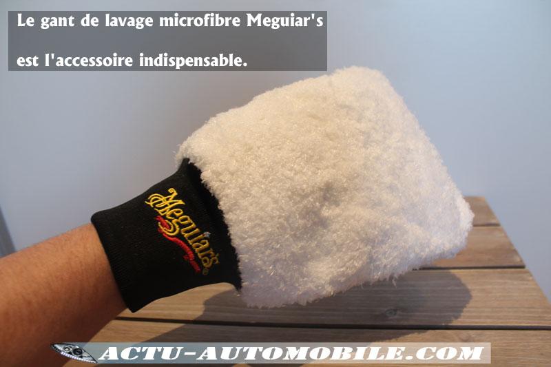 Gant de lavage Microfibre Meguiar's