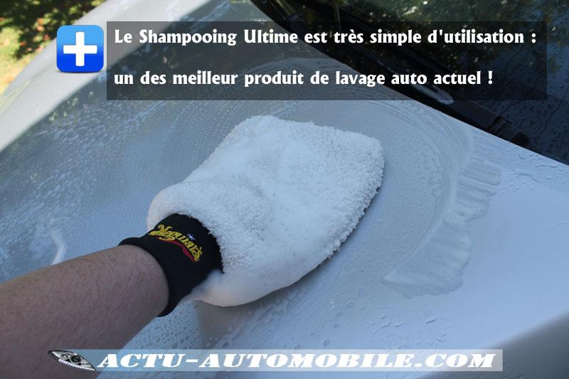 Phase de nettoyage carrosserie - Kit Entretien Véhicule Neuf Meguiar's