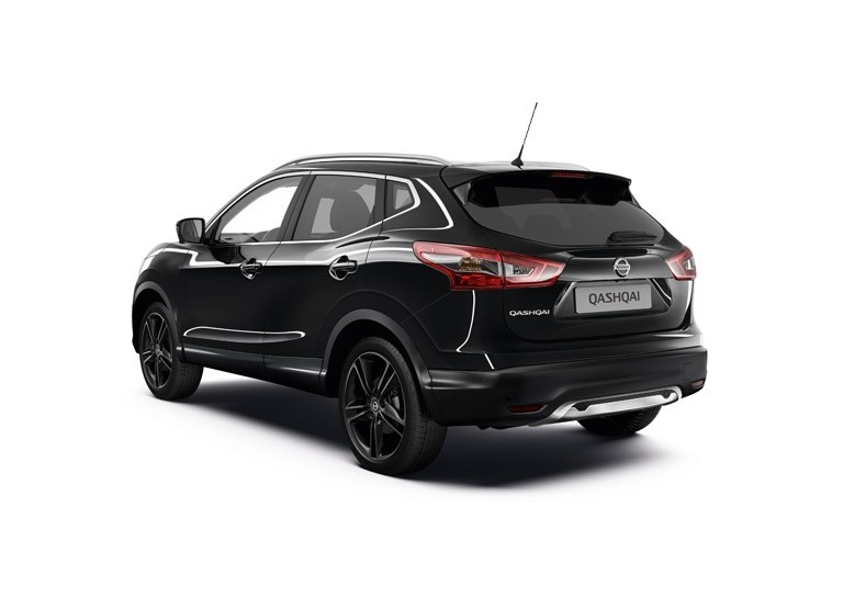 s rie limit e nissan qashqai black edition 2016 actu automobile. Black Bedroom Furniture Sets. Home Design Ideas