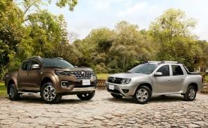 Renault Alaskan avec le Duster Oroch