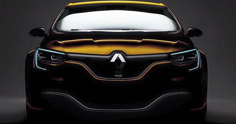 Nouvelle Renault Mégane 4 R.S 300