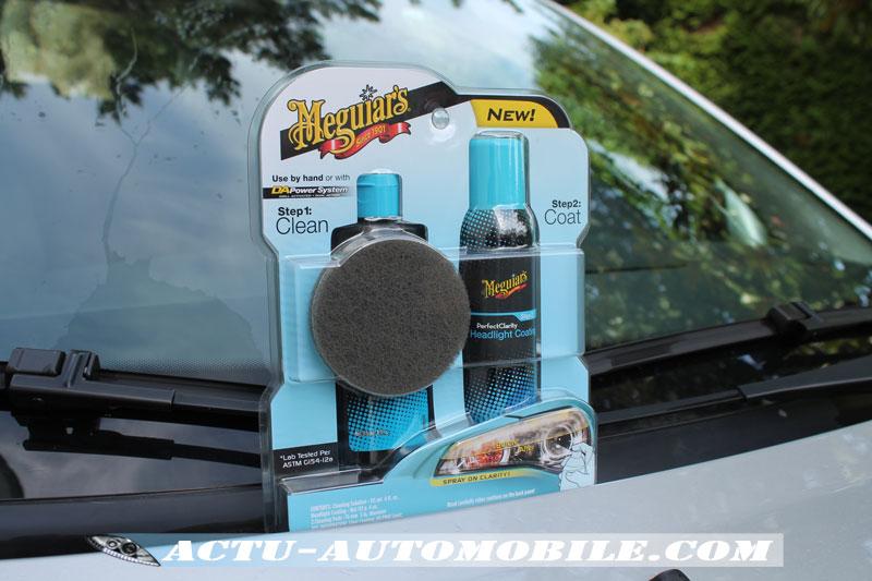 Spray de Protection - Kit rénovation optiques - Clarté parfaite de Meguiar's
