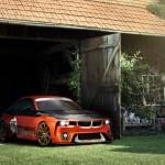 Sortie de grange pour une BMW 2002…Hommage !