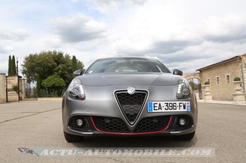 Alfa Romeo Giulietta Lusso restylée