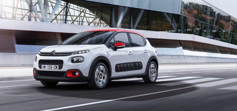 nouvelle Citroën C3 2016