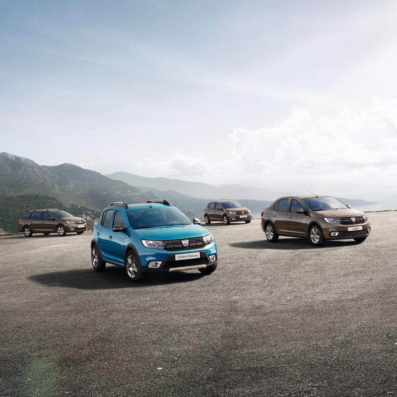 Les Dacia Sandero et Logan restylées pour le Mondial