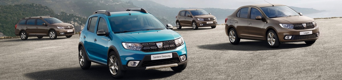 Dacia Sandero et Logan restylées