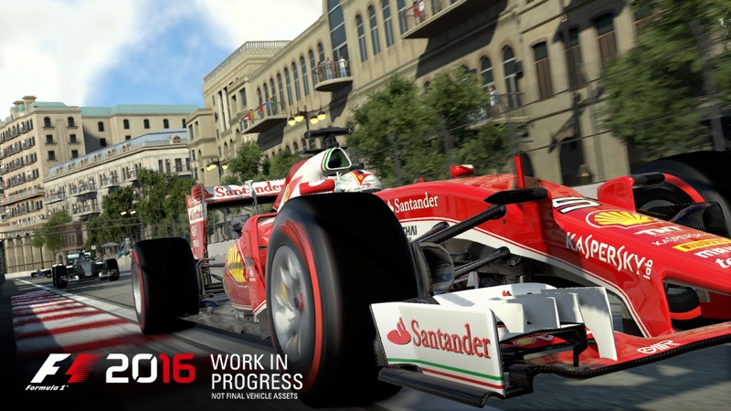 Essai F1 2016 sur PS4