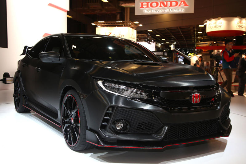 honda civic type r 2017 d j la nouvelle. Black Bedroom Furniture Sets. Home Design Ideas