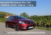 Essai nouvelle Renault Clio TCe 120 BVM