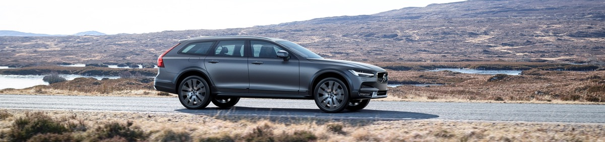Nouvelle Volvo V90 Cross Country