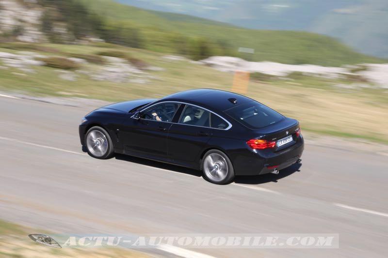 Essai BMW Série 4 Gran Coupé 440i M Performance