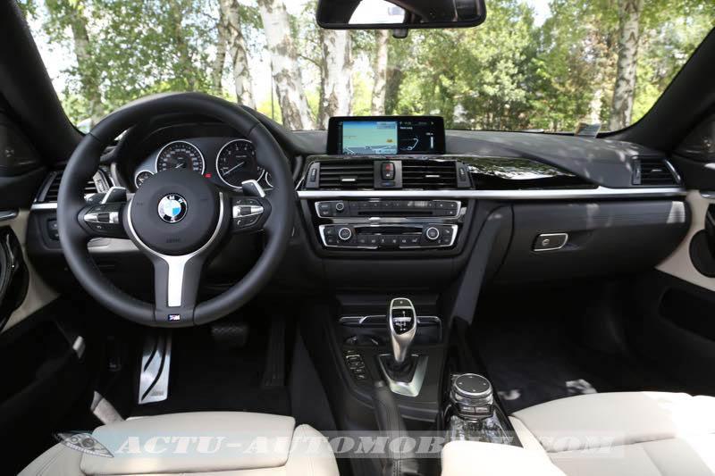 Planche de bord BMW Série 4 Gran Coupé M Sport