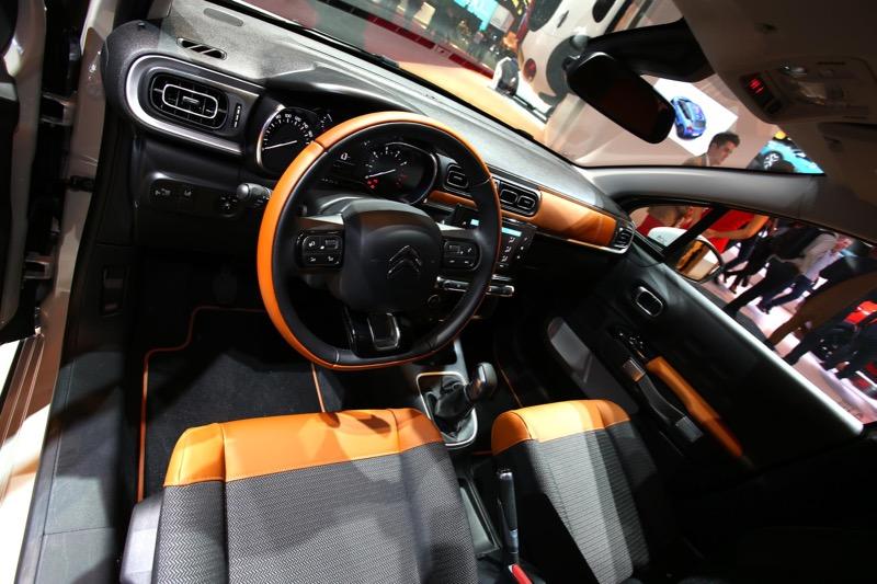 Planche de bord nouvelle Citroën C3
