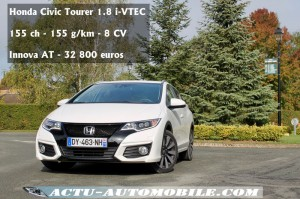 HONDA CIVIC TOURER 1.8 i-VTEC INNOVA AT