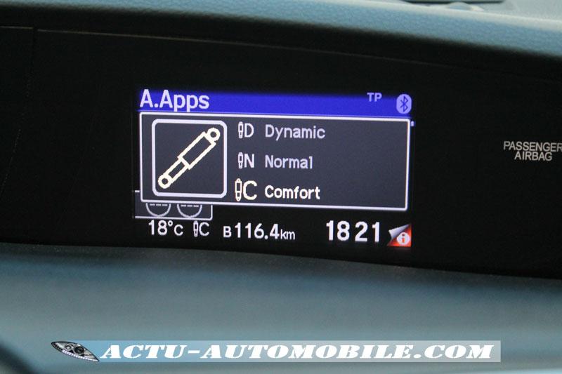 système d'amortissement actif ADS Adaptive Damper System