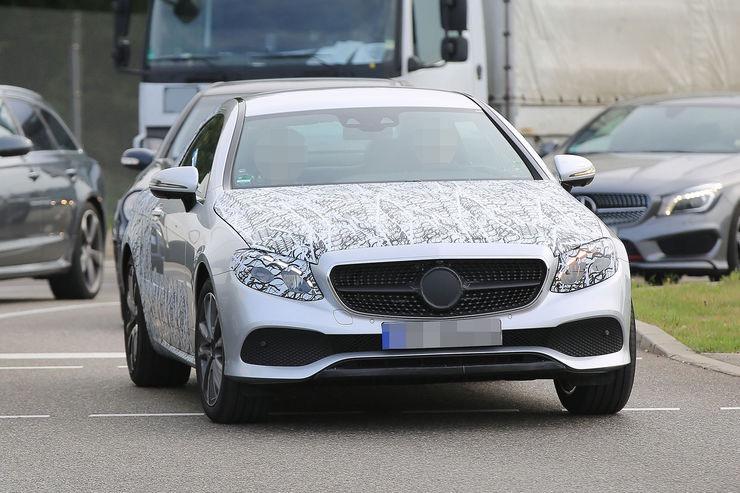 Nouvelle Mercedes Classe E Coupé
