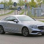 Nouvelle Mercedes Classe E Coupé : pour Genève 2017