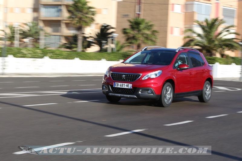 Le restyling du Peugeot 2008 a boosté les ventes