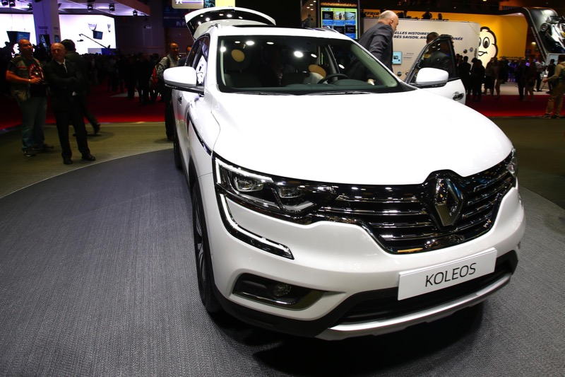 mondial de paris 2016 renault koleos actu automobile. Black Bedroom Furniture Sets. Home Design Ideas