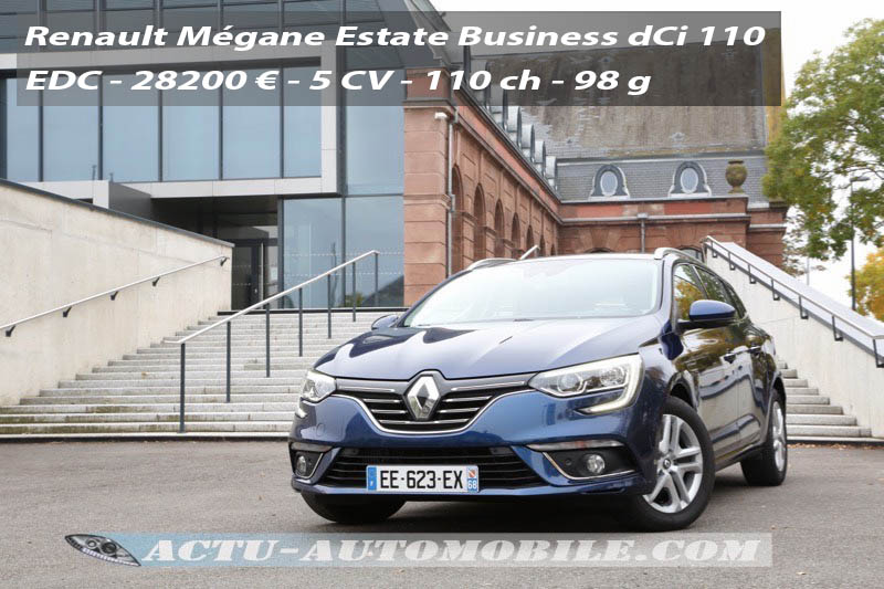 Essai Nouvelle Renault M 233 Gane Estate Business Dci 110 Edc