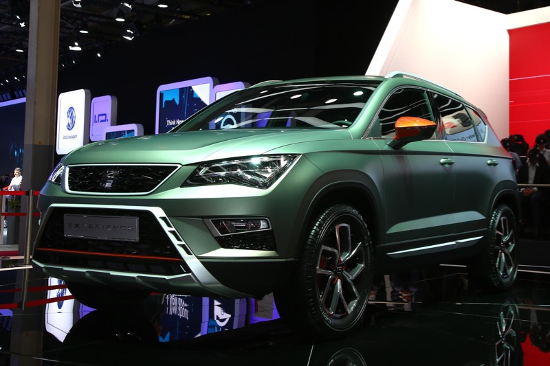 mondial de paris 2016 seat ateca x perience actu automobile. Black Bedroom Furniture Sets. Home Design Ideas