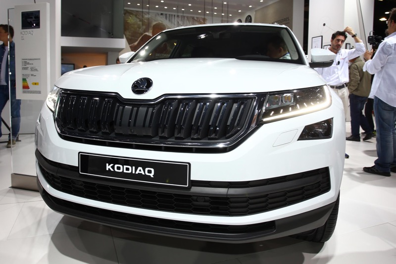mondial de paris 2016 skoda kodiaq. Black Bedroom Furniture Sets. Home Design Ideas