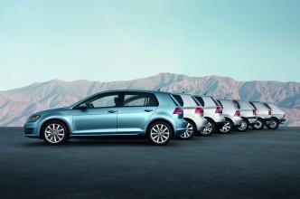 Volkswagen Golf toutes les générations