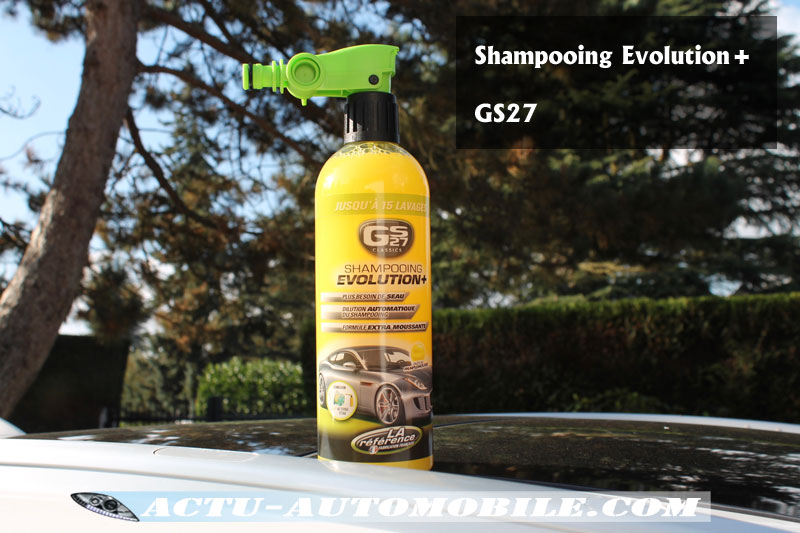 Shampooing Evolution+ GS27