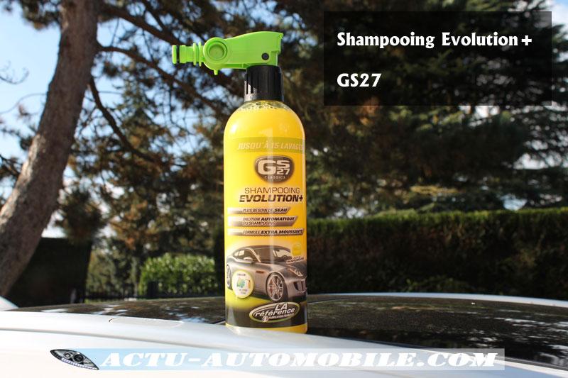 Shampooing Evolution+ GS27