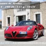 Essai Alfa Romeo 4C Spider : Bellissima !