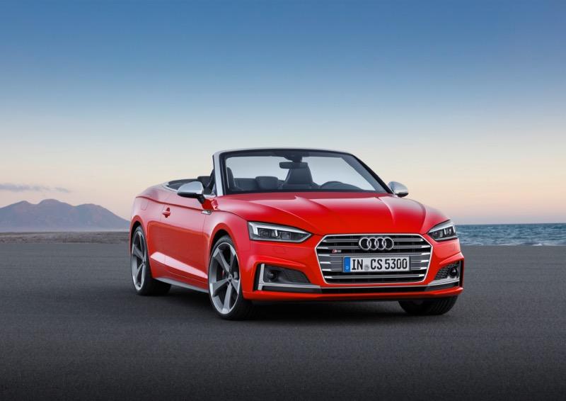 Nouvelle Audi S5 Cabriolet 2017