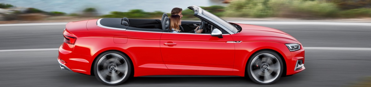 Nouvelle Audi S5 Cabriolet