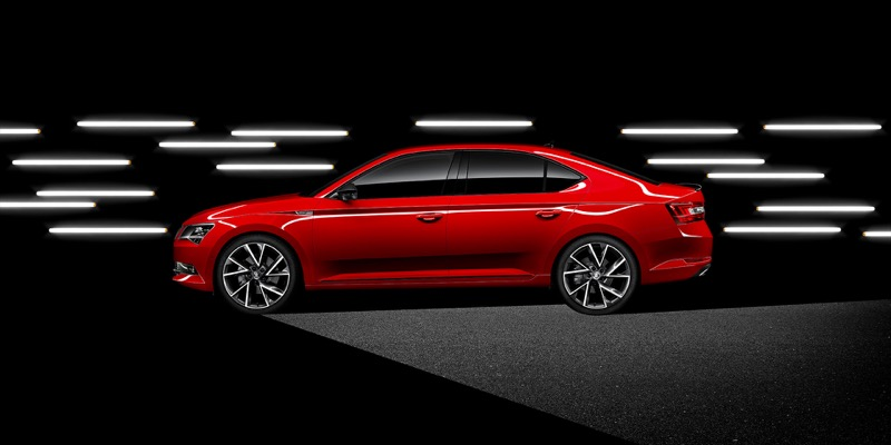 nouvelle finition   skoda superb sportline