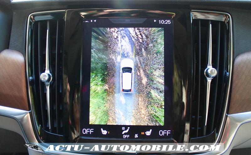 La caméra Surround View à 360 ° est un modèle du genre !