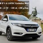 Essai Honda HR-V 1.6 i-DTEC Exclusive Navi